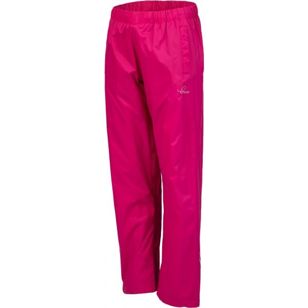Lewro ORIN ružová 152-158 - Detské šuštiakové nohavice