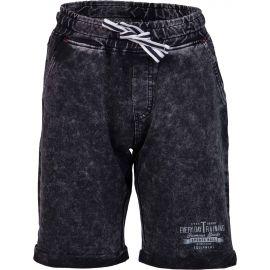 Lewro RAYEN - Dětské šortky džínového vzhledu