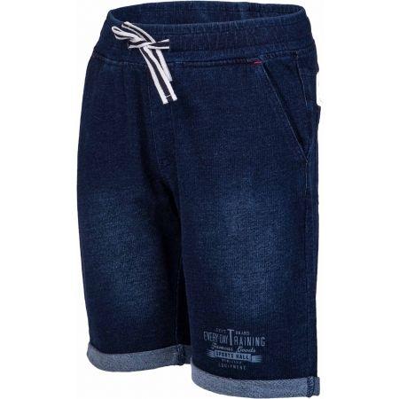 Lewro RAYEN - Detské šortky s džínsovým vzhľadom