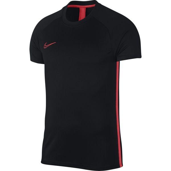 Nike NK DRY ACDMY TOP SS tmavě modrá XL - Pánské triko