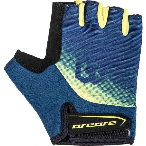 Arcore RACER zelená M - Krátkoprsté cyklistické rukavice
