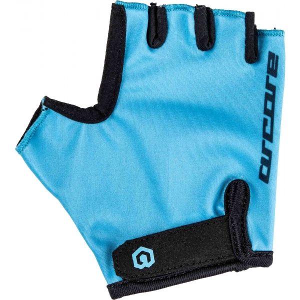 Arcore LUKE modrá 10 - Dětské cyklistické rukavice