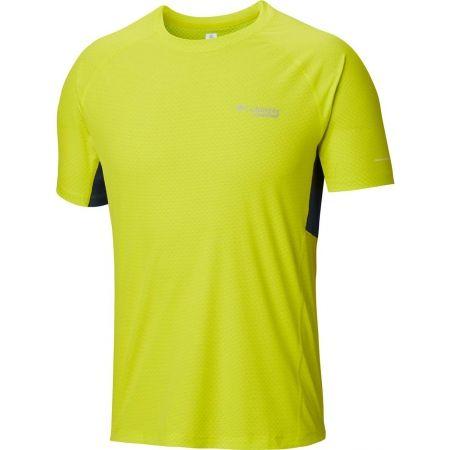 Pánske športové tričko - Columbia TITAN ULTRA SHORT SLEEVE SHIRT - 1