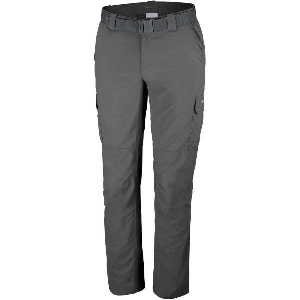 Columbia SILVER RIDGE II CARGO PANT tmavo sivá 38 - Pánske outdoorové nohavice