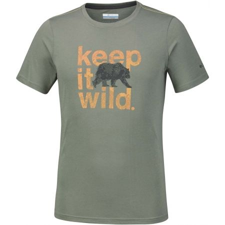 Men's T-shirt - Columbia MILLER VALLEY SHORT SLEEVE TEE - 1