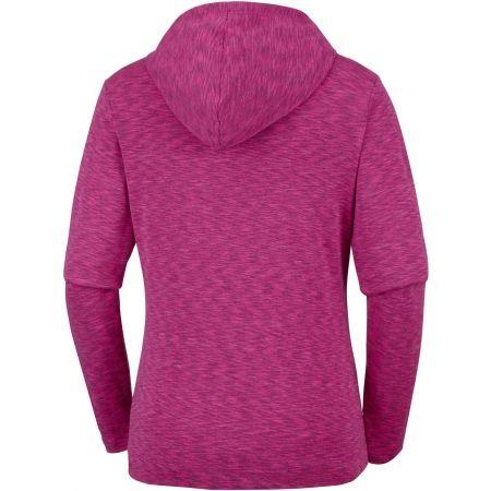 Women's outdoor sweatshirt - Columbia OUTERSPACED FULL ZIP HOODIE - 2