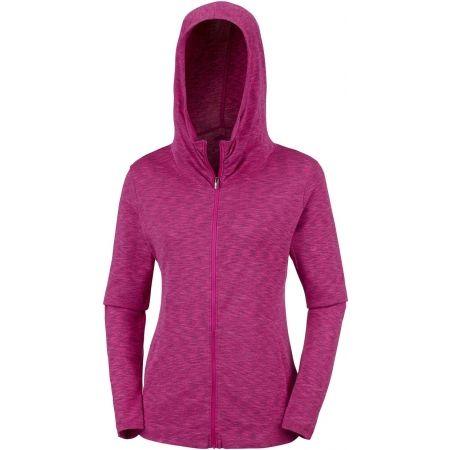 Women's outdoor sweatshirt - Columbia OUTERSPACED FULL ZIP HOODIE - 3
