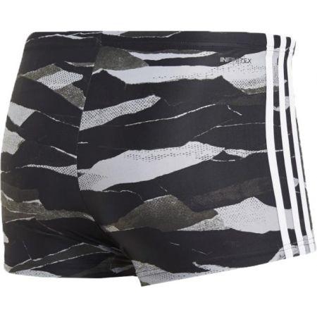Pánské plavecké šortky - adidas FITNESS 3-STRIPES GRAPHIC SWIM BOXER - 2