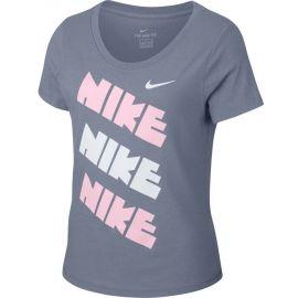 Nike SPORTSWEAR TEE HOUNDSTOOTH SCOOP