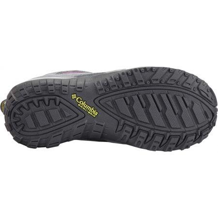 Dětské outdoorové boty - Columbia YOUTH REDMOND WATERPROOF - 4