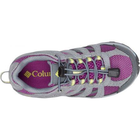 Dětské outdoorové boty - Columbia YOUTH REDMOND WATERPROOF - 3