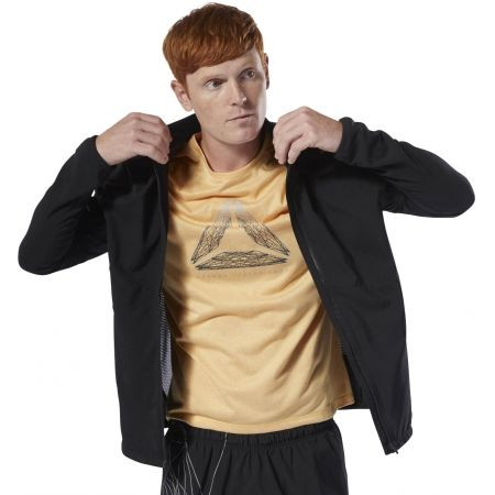 Men's jacket - Reebok RE WOVEN JKT - 5
