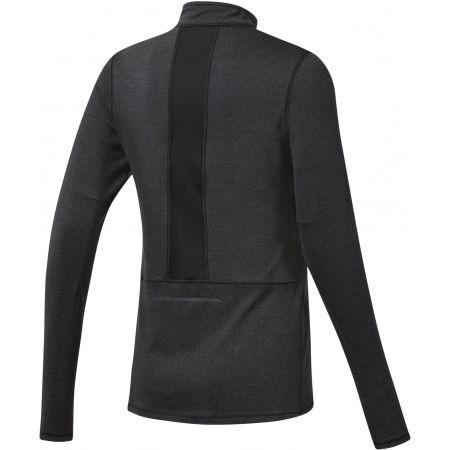 Women's sports sweatshirt - Reebok RUNNING ESSENTIALS 1/4 ZIP TOP - 2