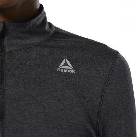 Women's sports sweatshirt - Reebok RUNNING ESSENTIALS 1/4 ZIP TOP - 6