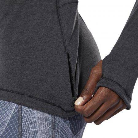 Women's sports sweatshirt - Reebok RUNNING ESSENTIALS 1/4 ZIP TOP - 7