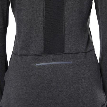 Women's sports sweatshirt - Reebok RUNNING ESSENTIALS 1/4 ZIP TOP - 8