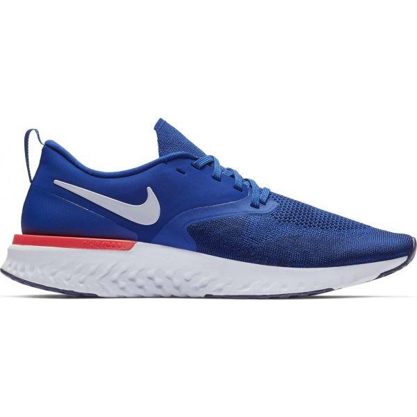 Nike ODYSSEY REACT FLYKNIT 2 modrá 10 - Pánská běžecká obuv