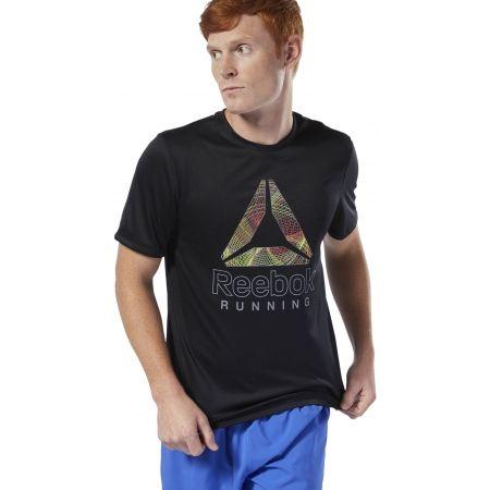 Men's T-shirt - Reebok RE GRAPHIC TEE - 3