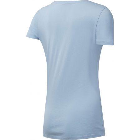 Women's T-shirt - Reebok LINEAR READ SCOOP NECK - 2