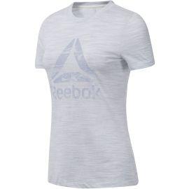Reebok MARBLE LOGO TEE - Dámské triko