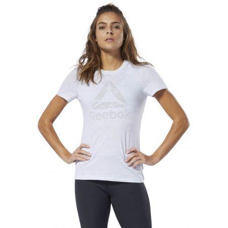 Women's T-shirt - Reebok MARBLE LOGO TEE - 3