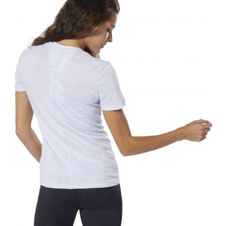 Women's T-shirt - Reebok MARBLE LOGO TEE - 5