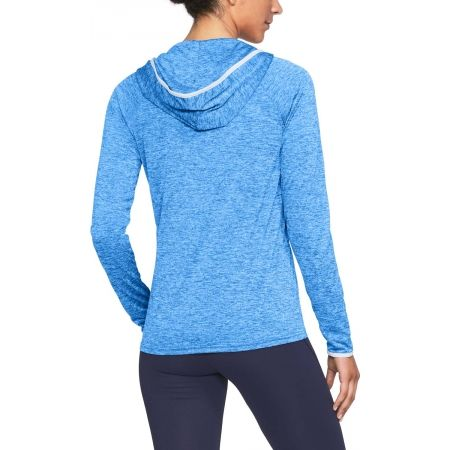 Hanorac damă - Under Armour TECH LS HOODY - TWIST - 5