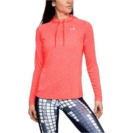 Leichtes Sweatshirt für Damen - Under Armour TECH LS HOODY 2.0 - 5