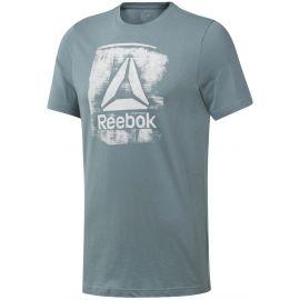 Reebok GS STAMPED LOGO CREW - Pánské triko