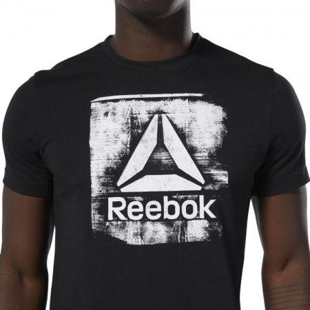 Men's T-shirt - Reebok GS STAMPED LOGO CREW - 6