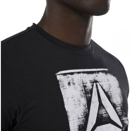 Men's T-shirt - Reebok GS STAMPED LOGO CREW - 7