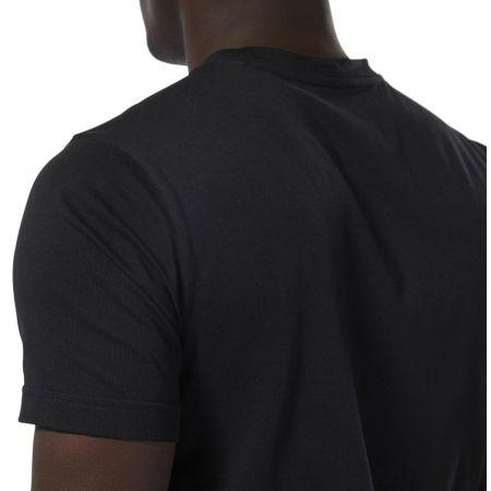 Men's T-shirt - Reebok GS STAMPED LOGO CREW - 8