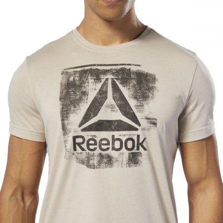 Pánske tričko - Reebok GS STAMPED LOGO CREW - 6