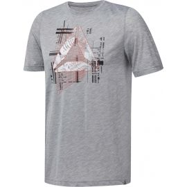 Reebok GS FOUNDATIONS AOP - Herren Shirt