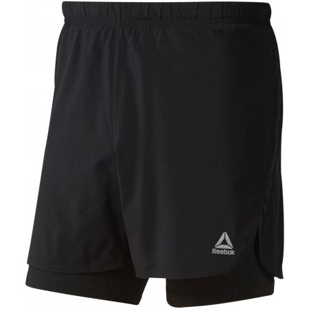 Men's shorts - Reebok 2-1 SHORT - 1