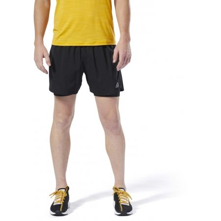 Men's shorts - Reebok 2-1 SHORT - 3