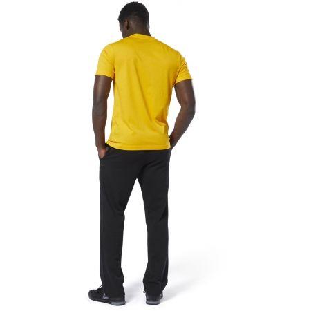 Men's pants - Reebok FRENCH TERRY OPEN HEM PANT - 5