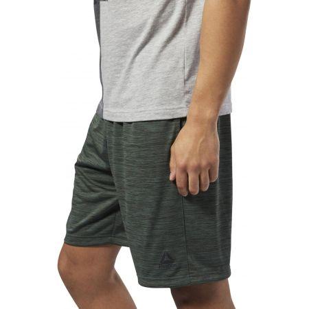 Men's shorts - Reebok WORKOUT READY KNIT SHORT - 4