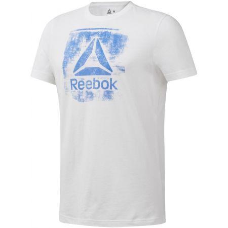 Мъжка  тениска - Reebok GS STAMPED LOGO CREW - 1
