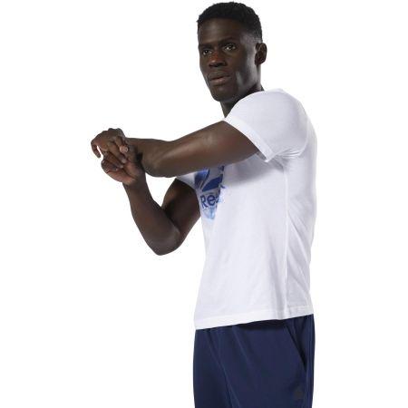 Мъжка  тениска - Reebok GS STAMPED LOGO CREW - 3