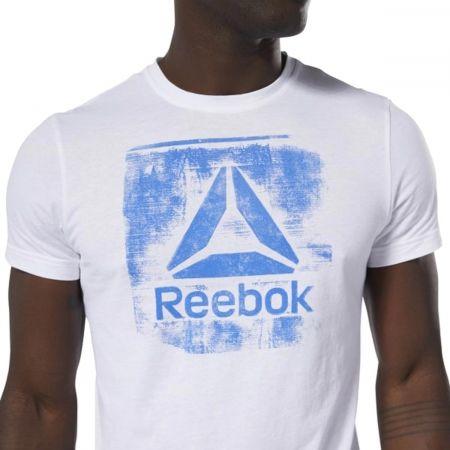 Мъжка  тениска - Reebok GS STAMPED LOGO CREW - 5