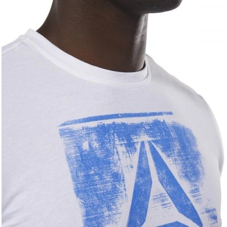 Мъжка  тениска - Reebok GS STAMPED LOGO CREW - 6