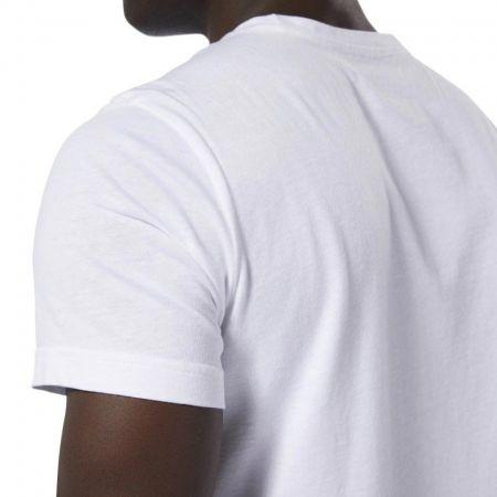 Мъжка  тениска - Reebok GS STAMPED LOGO CREW - 7