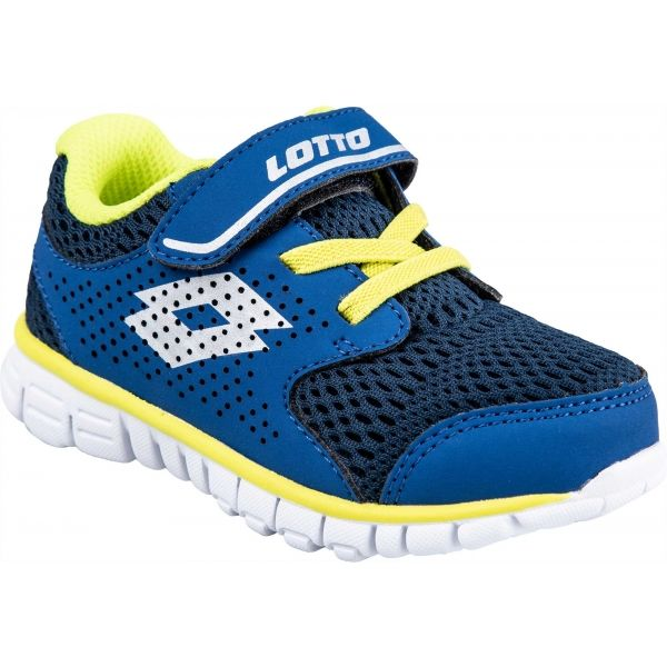 Lotto SPACERUN VII INF SL modrá 24 - Chlapecká volnočasová obuv