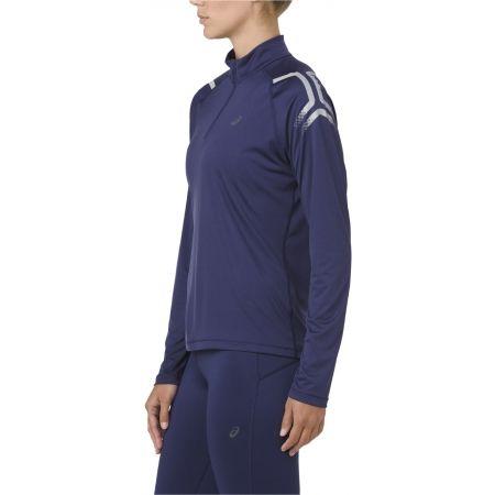 Women's sports T-shirt - Asics ICON LS 1/2 ZIP TOP - 3