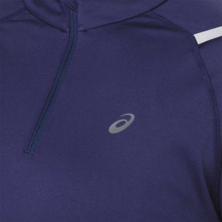 Women's sports T-shirt - Asics ICON LS 1/2 ZIP TOP - 4