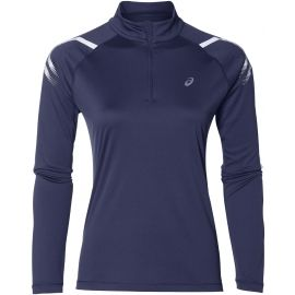 Asics ICON LS 1/2 ZIP TOP - Tricou sport damă