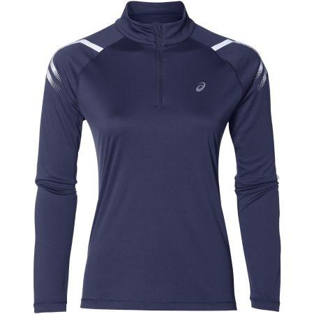Women's sports T-shirt - Asics ICON LS 1/2 ZIP TOP - 1
