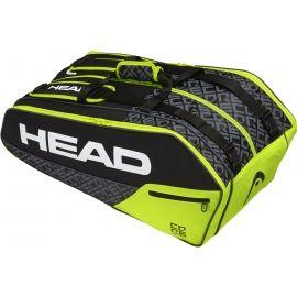 Head CORE 9R SUPERCOMBI - Чанта за тенис ракети