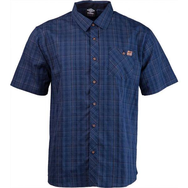 Umbro PABLO tmavě modrá S - Pánská košile